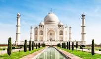 Picture of a Taj Mahal